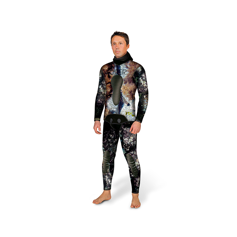 traje pesca submarina omer mix 3d 7/5mm
